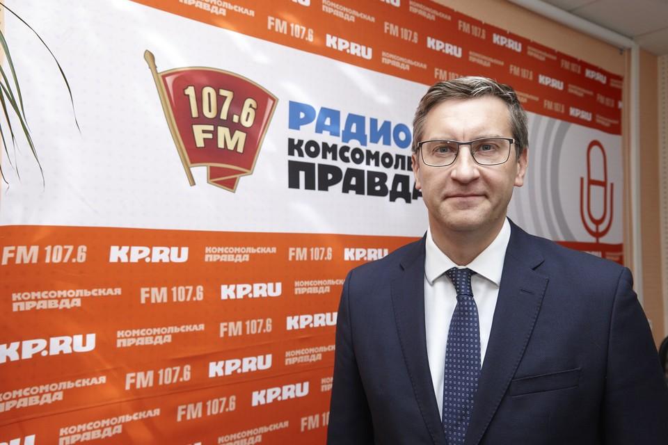 Председатель правительства УР Ярослав Семенов