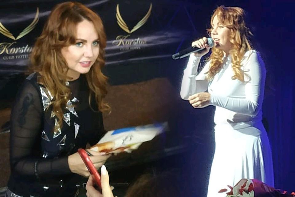 Певица МакSим на концерте. Фото anna_se5@instagram