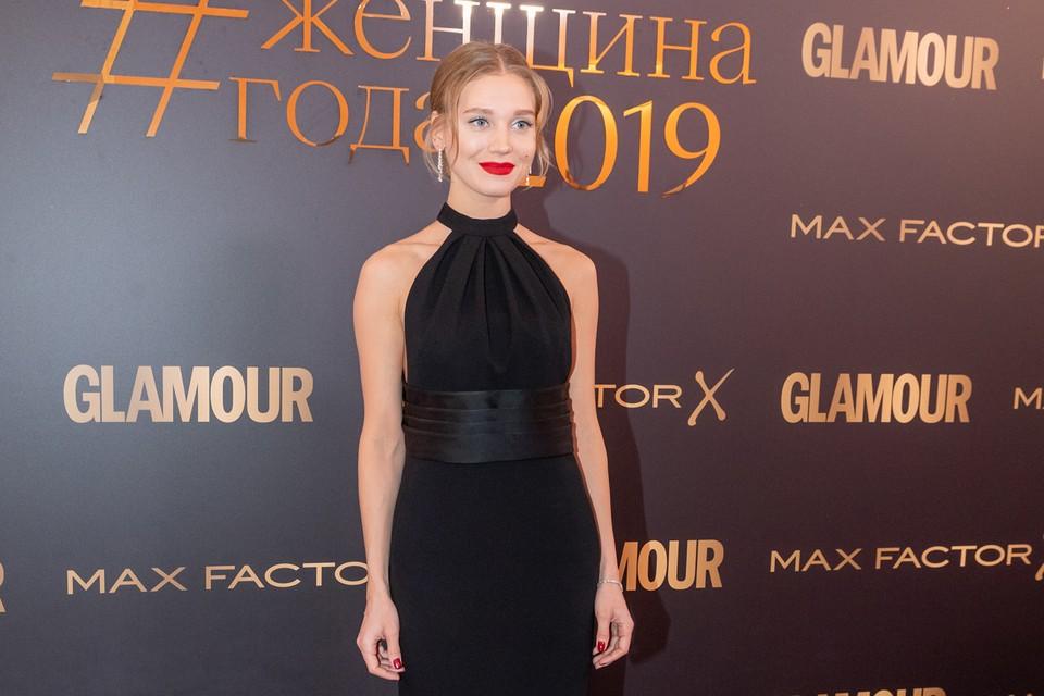 Кристина Асмус на премии журнала «Glamour»
