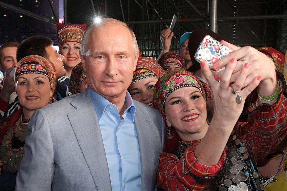 Когда Путин строил эту страну, он что-то брал от всех русских моделей понемногу. Фото: Алексей Дружинин/ТАСС