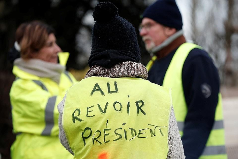"""В Париже закрыли более 20 станций метро из-за протестов """"желтых жилетов"""""""