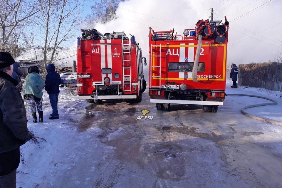 Спасатели локализовали пожар за 40 минут.