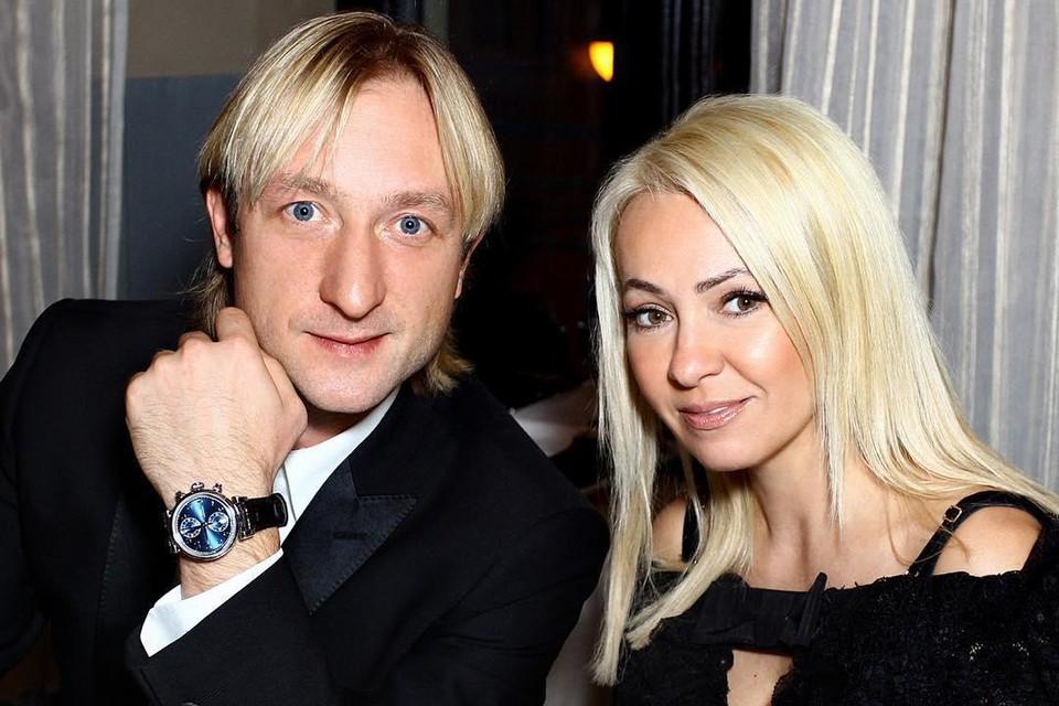 Яна Рудковская и Евгений Плющенко мечтают завести еще детей