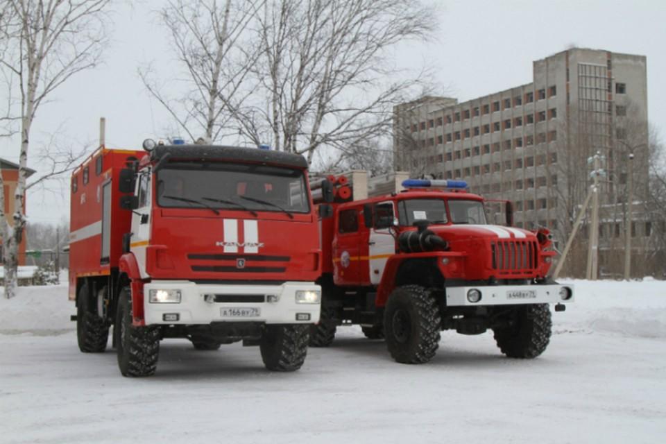 Биробиджанские спасатели получили два новых спецавтомобиля