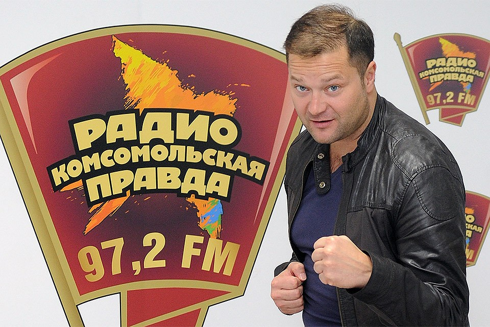 """Никита Исаев в редакции """"Комсомольской правды""""."""