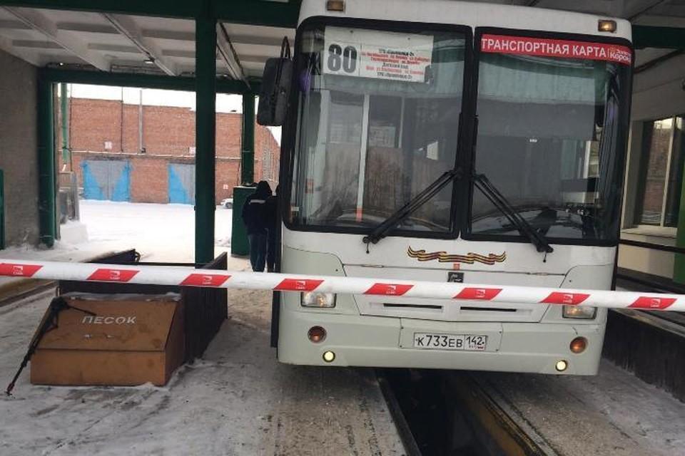 В Кемерове состояние транспорта в морозы находится на особом контроле. Фото: УЕЗТУ