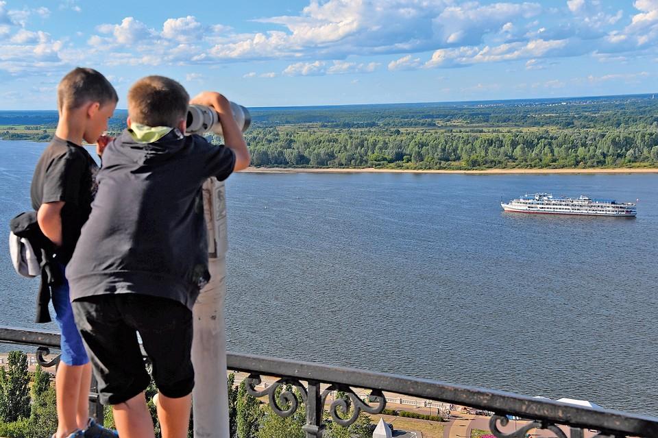 Волга - самая судоходная река России.
