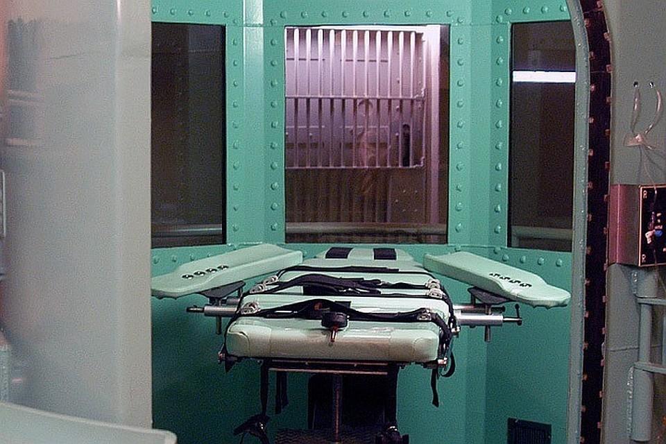 Чаще всего в США преступникам, приговоренным к казни, вводят смертельную инъекцию.
