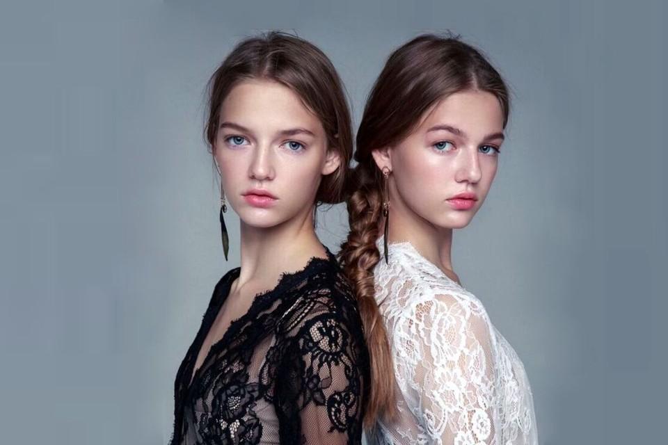 Ира и Лера - близняшки, которые покорили мир моды. Фото: предоставлено сестрами Никоновыми.