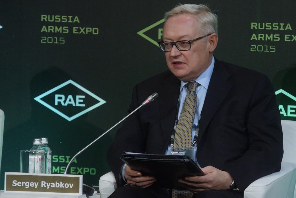 Заместитель министра иностранных дел Российской Федерации Сергей Рябков