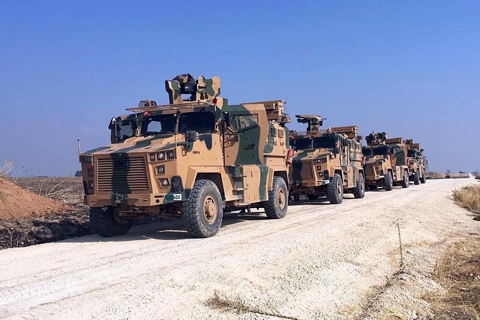 B Северной Сирии, Вашингтон оказывает поддержку курдским формированиям, которых Анкара считает «террористическими группами»