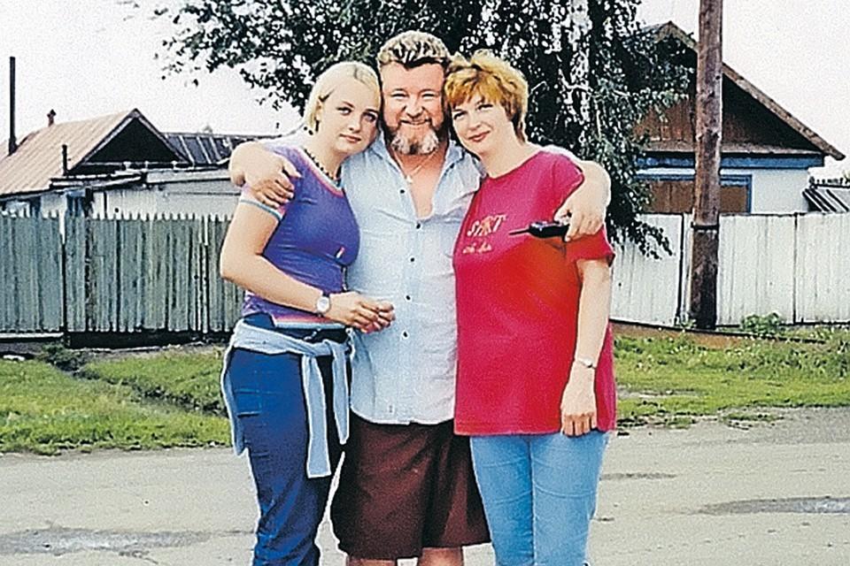 Евдокимов на Алтае с женой и дочерью