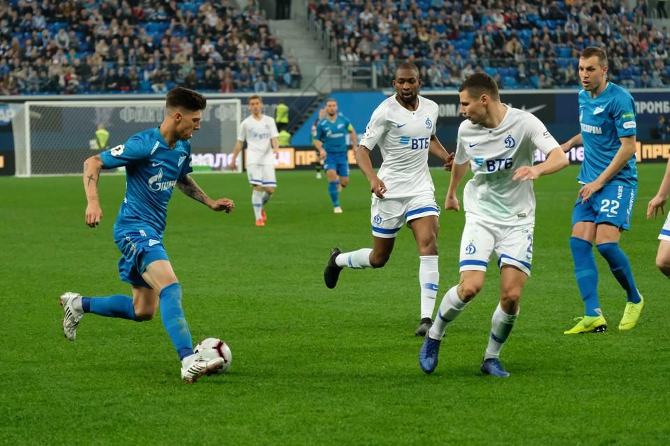 Прямая онлайн-трансляция матча чемпионата РПЛ по футболу Зенит - Динамо 6 декабря 2019.