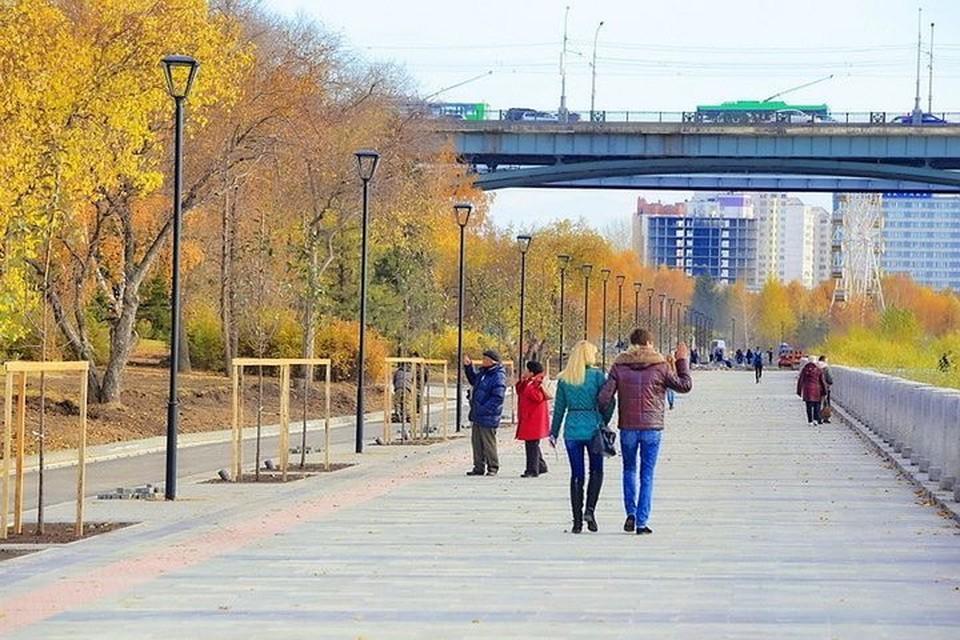 Новосибирские бизнесмены хотят помочь в реконструкции набережной. Фото: пресс-центр мэрии города Новосибирска