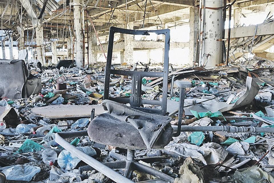 Донецкий аэропорт, уничтоженный до тла, стал самым выразительным символом этой войны.