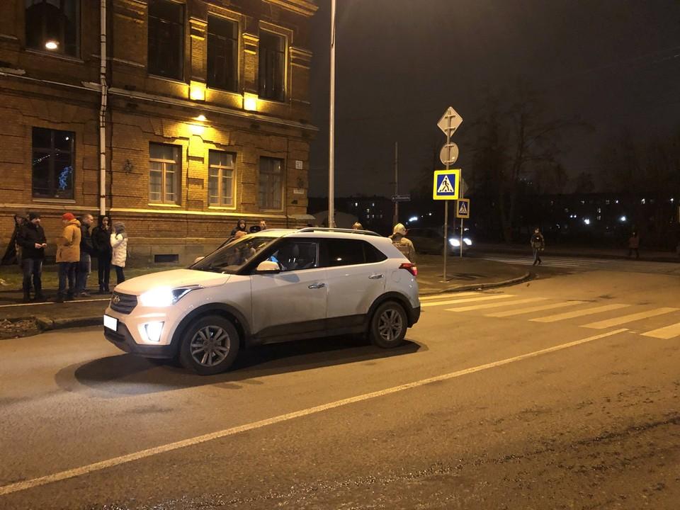 Пострадавшая перебегала проезжую часть по пешеходному переходу