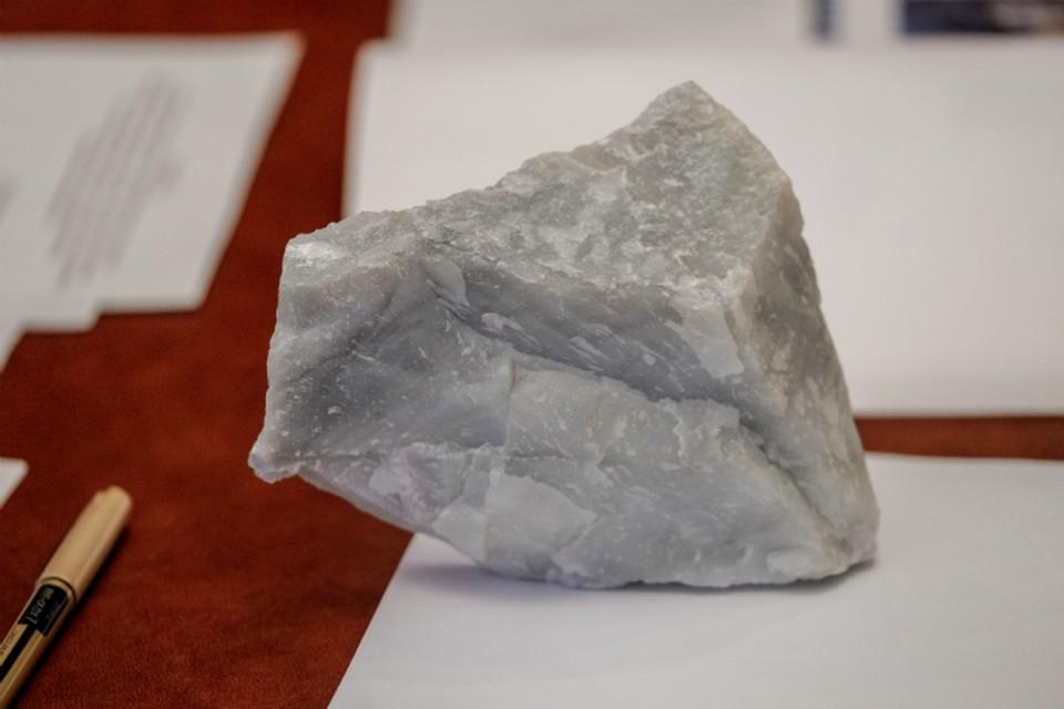В Еврейской автономии треть мировых запасов брусита, но минерал пока недосягаем ФОТО: Минвостокразвития