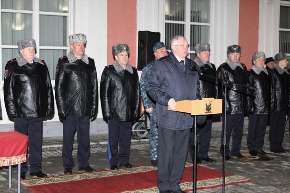 Сводный отряд нижегородской полиции вернулся из Дагестана.