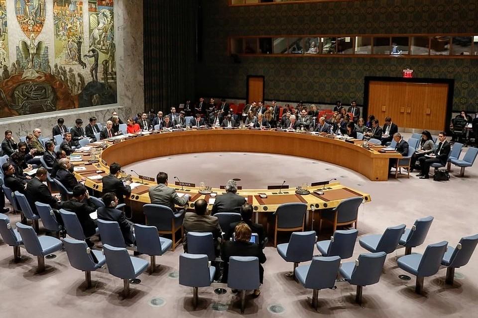 Заседание Совета безопасности ООН. Фото: REUTERS