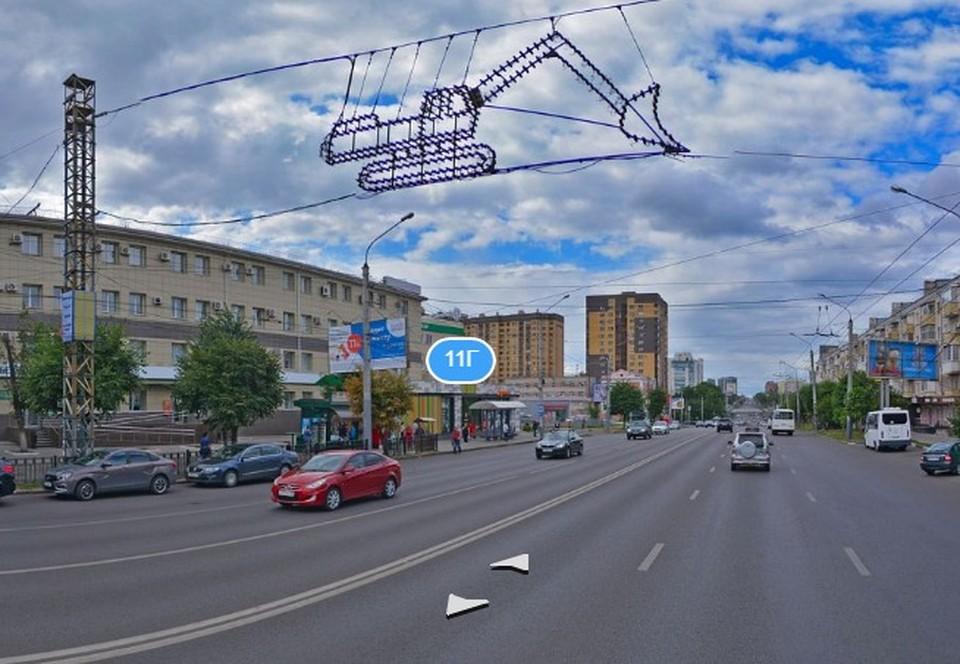 """фото - панорама с сервиса """"Яндекс.Карты"""""""