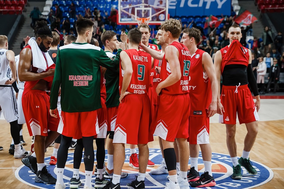 Локомотив-Кубань обыграл Партизан в Еврокубке Фото: ПБК Локомотив-Кубань
