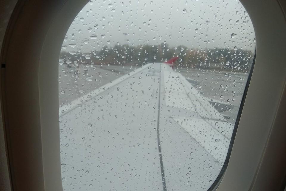 Рейсы задерживают из-за плохих погодных условий