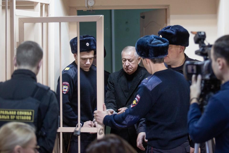 Евгений Тефтелев в суде.