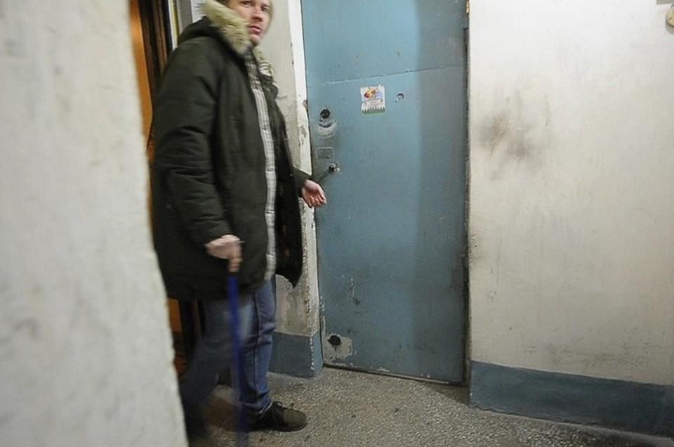 Мы застали Глеба Березкина, когда он возвращался домой