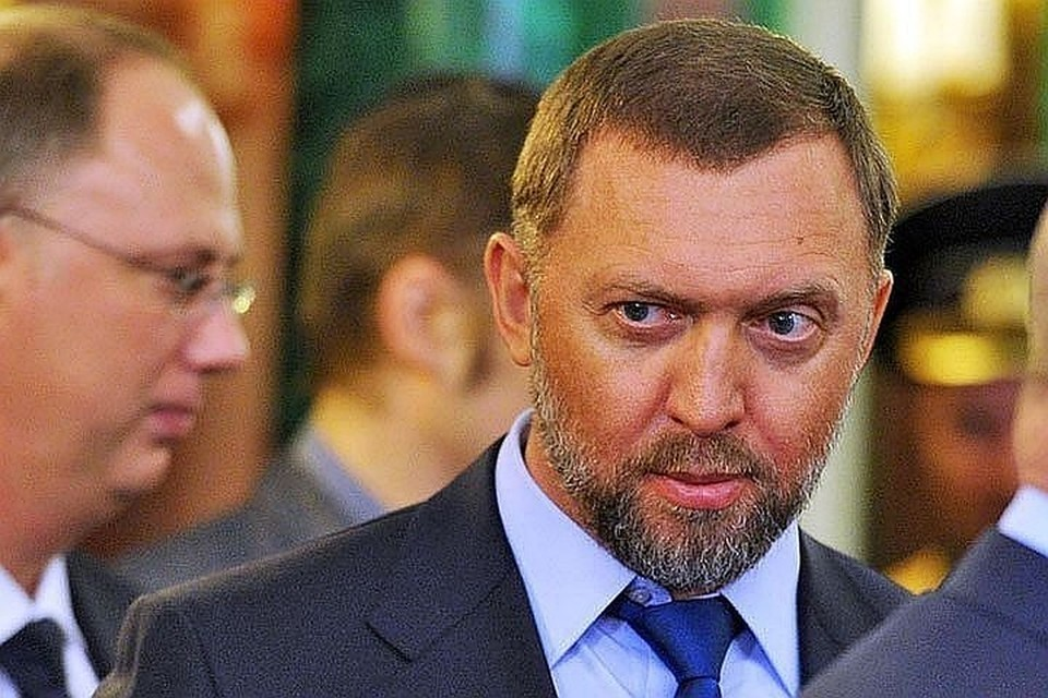 Российский бизнесмен Олег Дерипаска