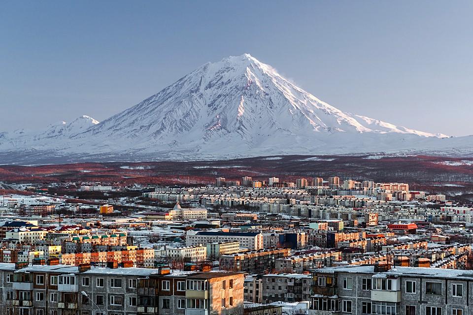 Петропавловск-Камчатский во всей красе