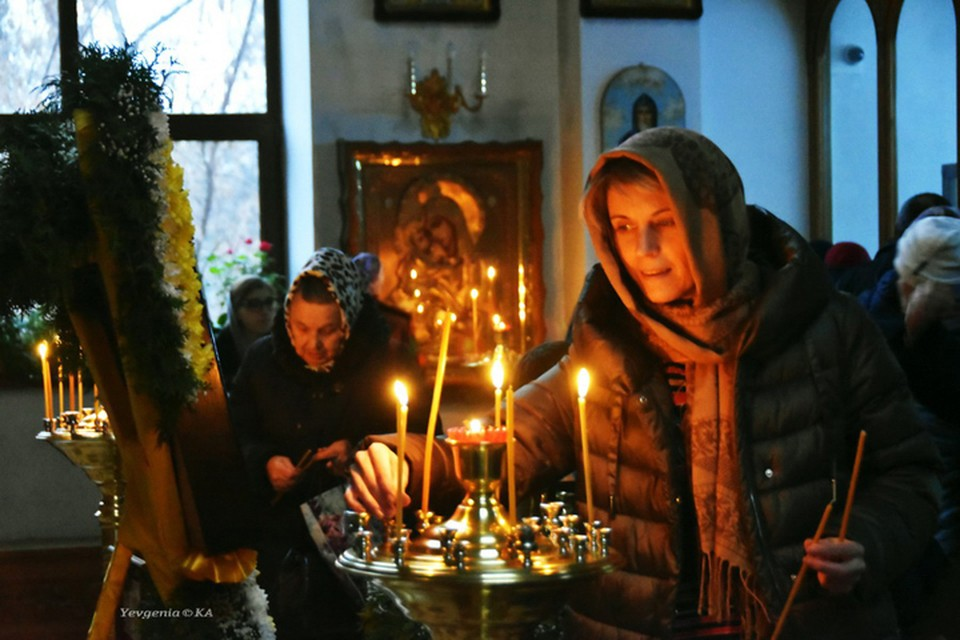Престольный праздник в храме святого апостола Андрея Первозванного. Фото: Евгения Карпачева