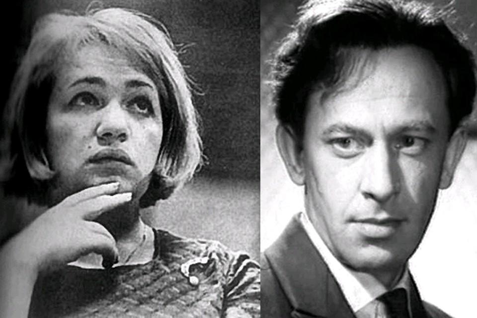 Галина Волчек и Евгений Евстигнеев поженились в 1955 году. Фото: kino-teatr.ru