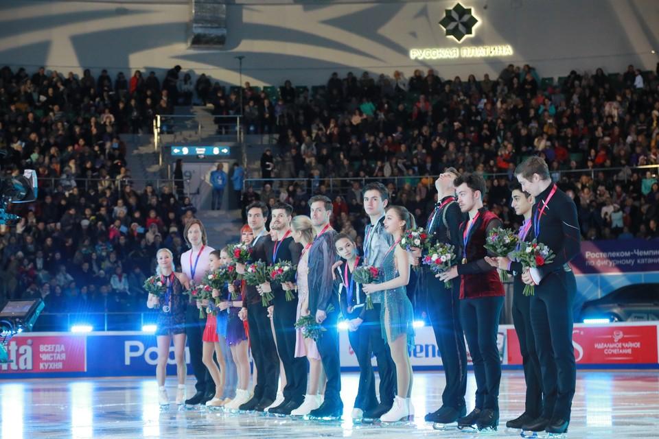 Победители и призеры Чемпионата 2020 по Фигурному катанию