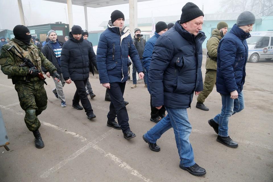 Процедура обмена военнопленными между Киевом и ЛДНР