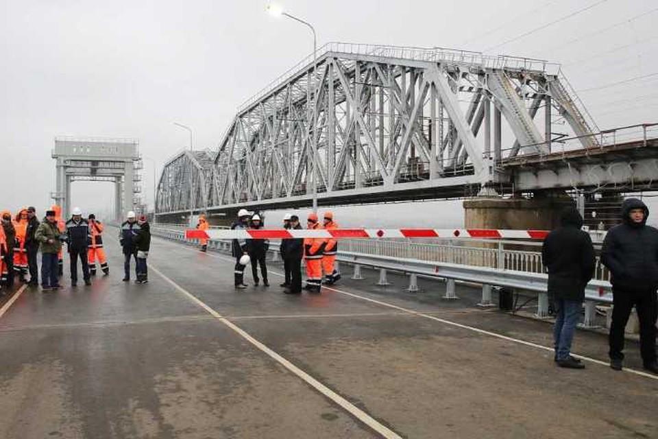Сегодня дали старт движению по новому мосту. Фото: правительство Ростовской области