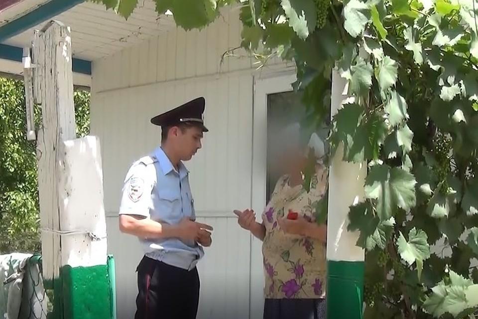 Капитан полиции бросился в одиночку защищать от вооруженного разбоя. Фото: кадр видео