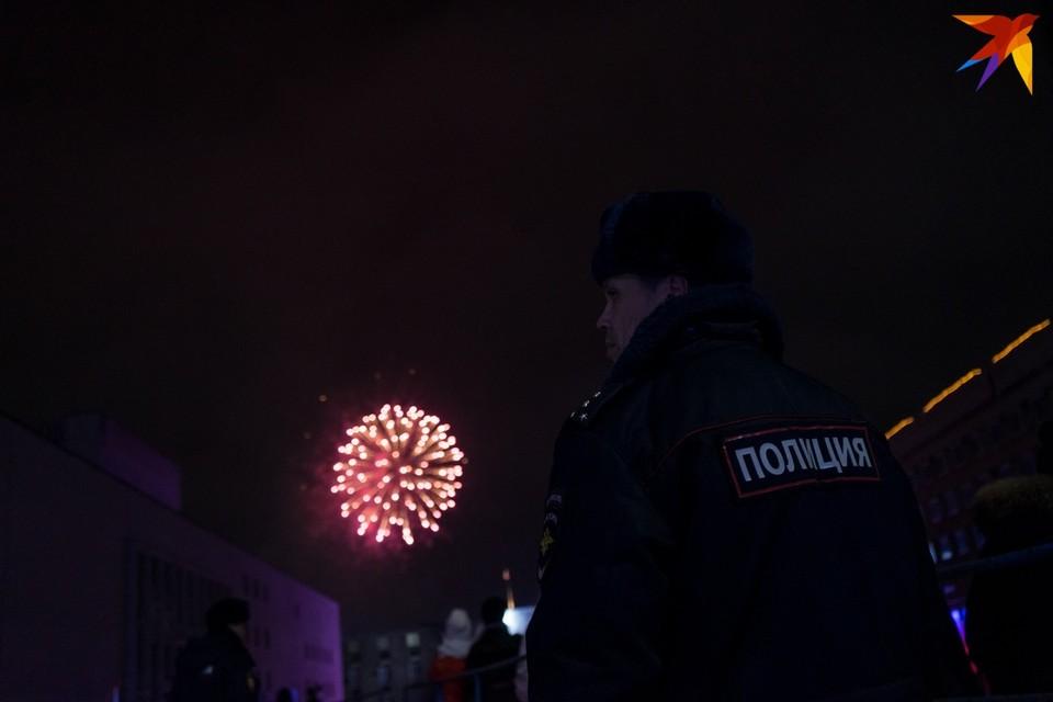 Новогодняя ночь на Орловщине прошла без серьезных эксцессов