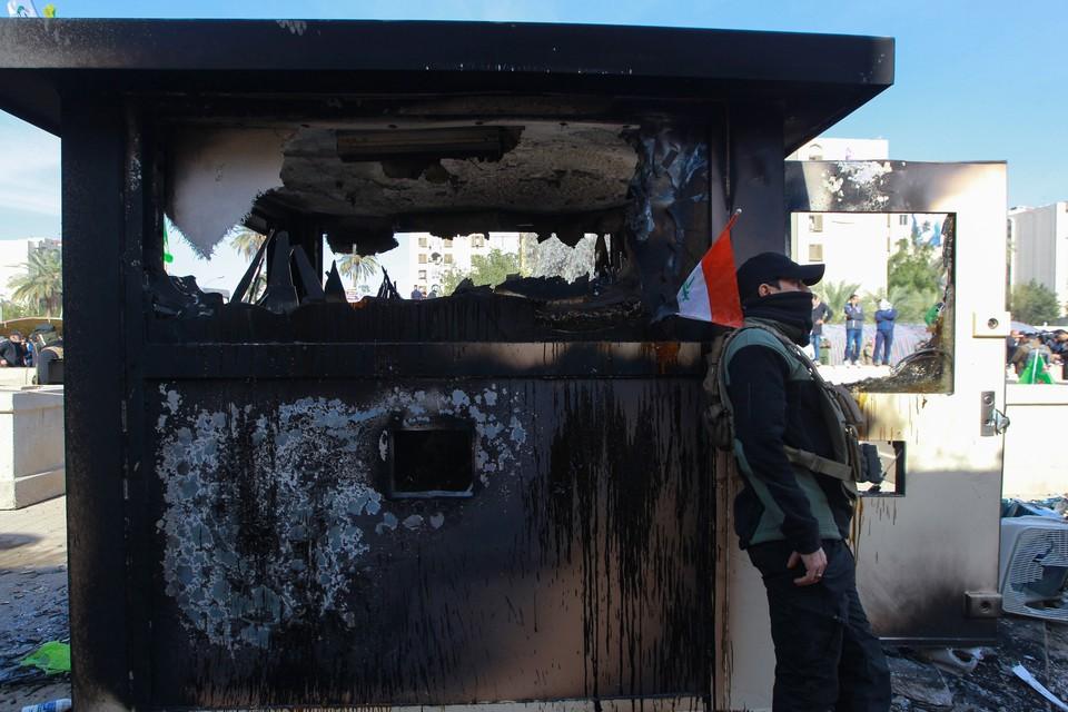 В результате ракетной атаки на аэропорт Багдада погибли восемь человек