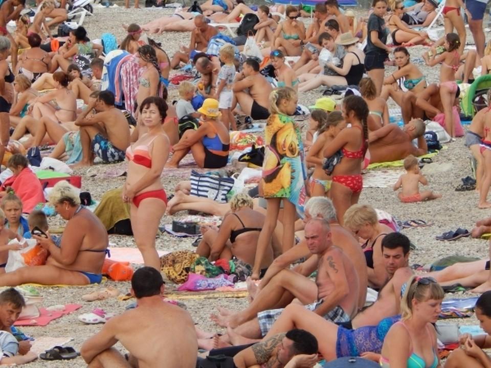 Крым поставил рекорд по числу туристов за последние 30 лет