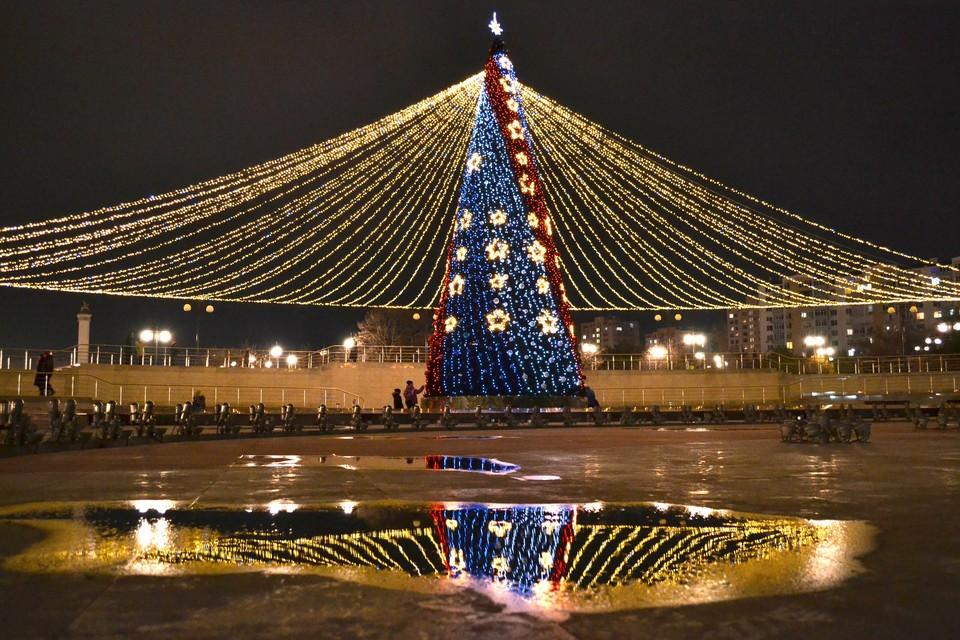 В ночь на Рождество может пойти небольшой дождь.
