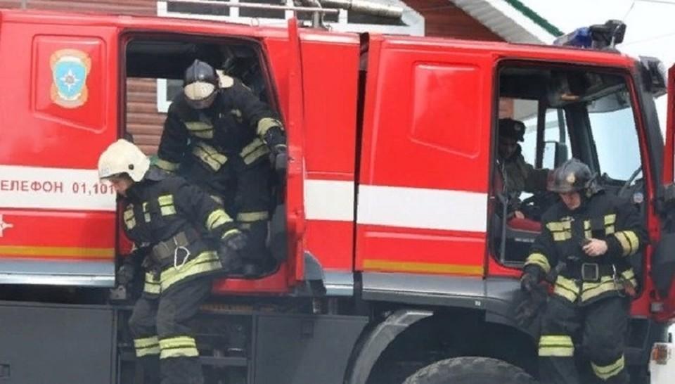 В новогодние каникулы в Югре произошло более полусотни пожаров. Фото МЧС ХМАО.