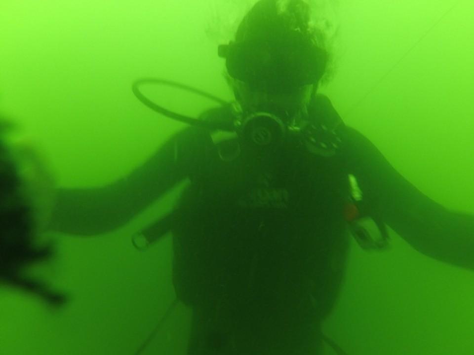 Бдительная гражданка приняла дайверов за тонущих рыбаков. Фото: пресс-служба МЧС РК