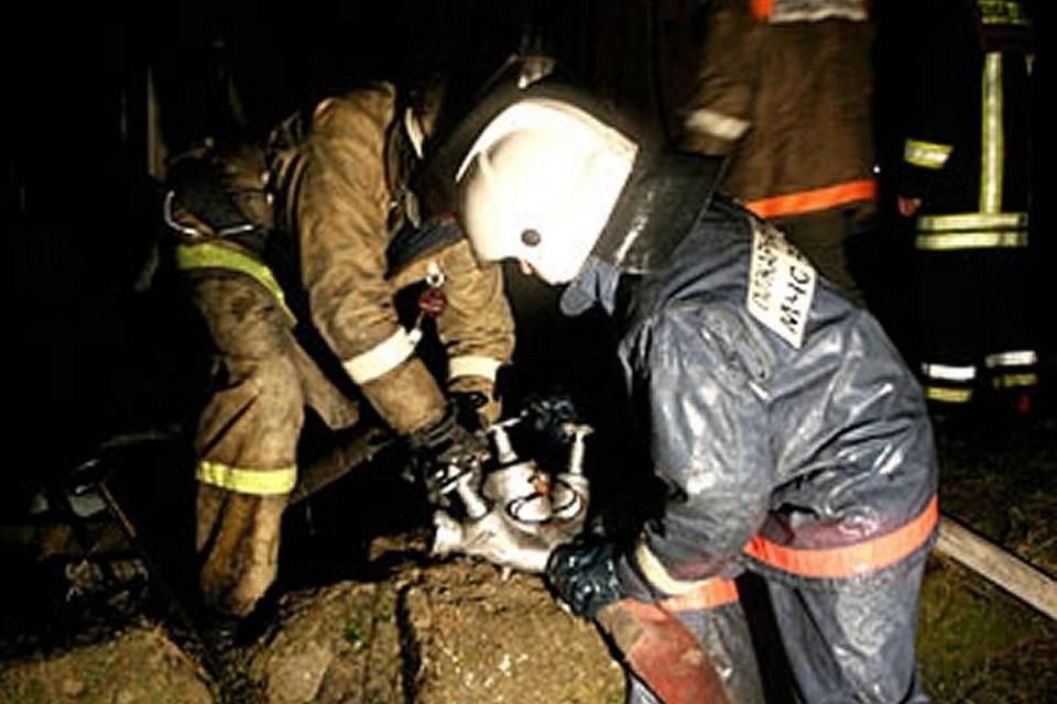 В Муравленко горел полигон ТБО Фото: 89.mchs.gov.ru