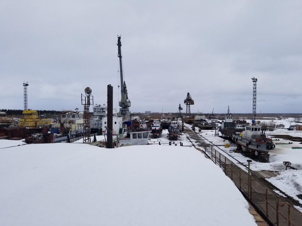 Фото с сайта Печорского судостроительного завода