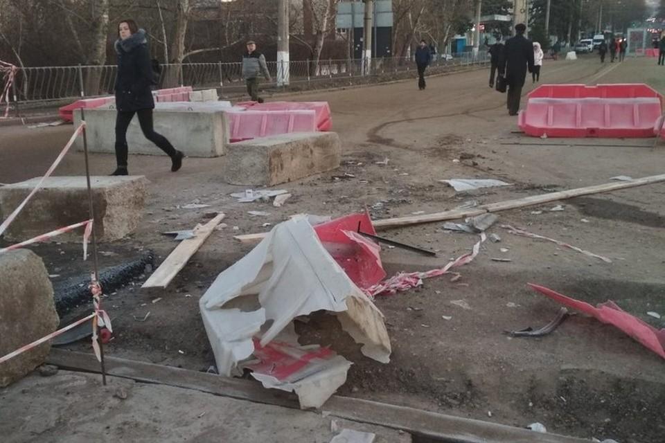 Фото прислал КП-Крым очевидец