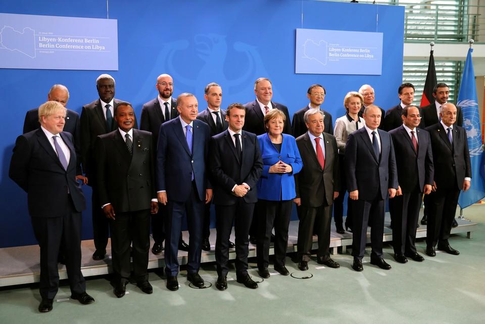 Участники конференции в Берлине