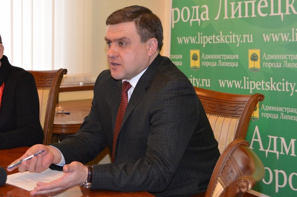 Бывший мэр Липецка под подпиской о невыезде