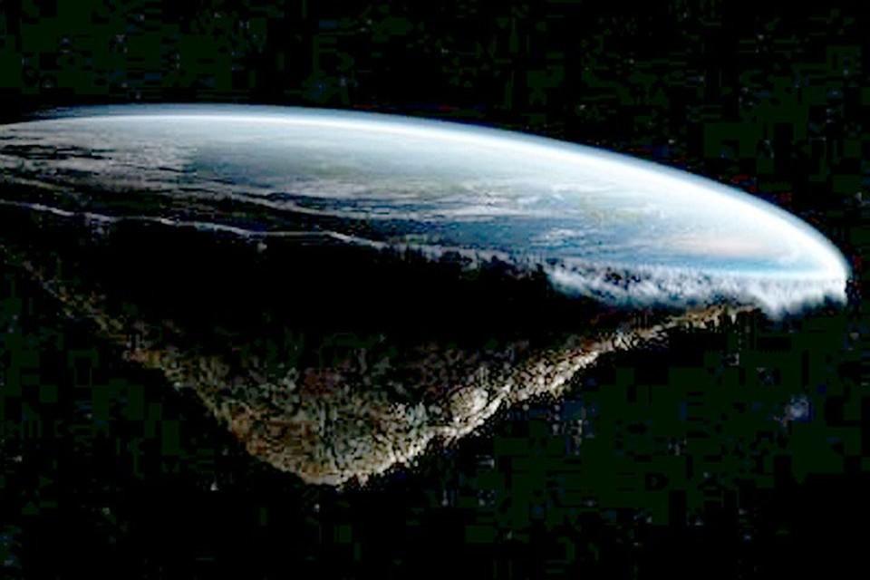 Такой представляют Землю сторонники общества «Плоская земля»