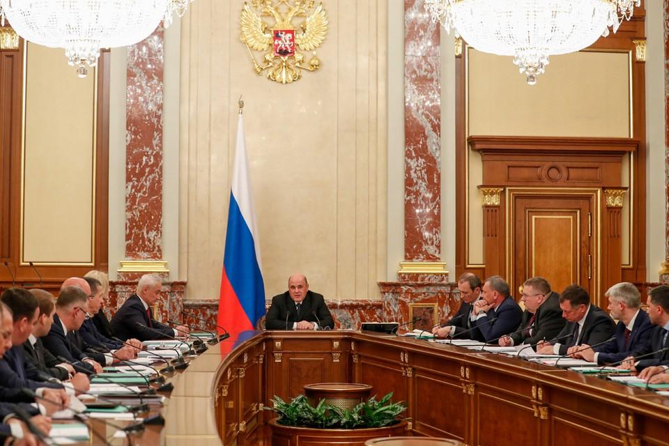 Михаил Мишустин привел в правительство много своих людей. Фото: Екатерина Штукина/ТАСС