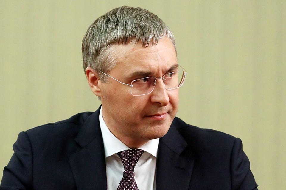 Валерий Николаевич возглавил Тюменский государственный университет в возрасте 34 лет. Фото: Екатерина Штукина/POOL/ТАСС